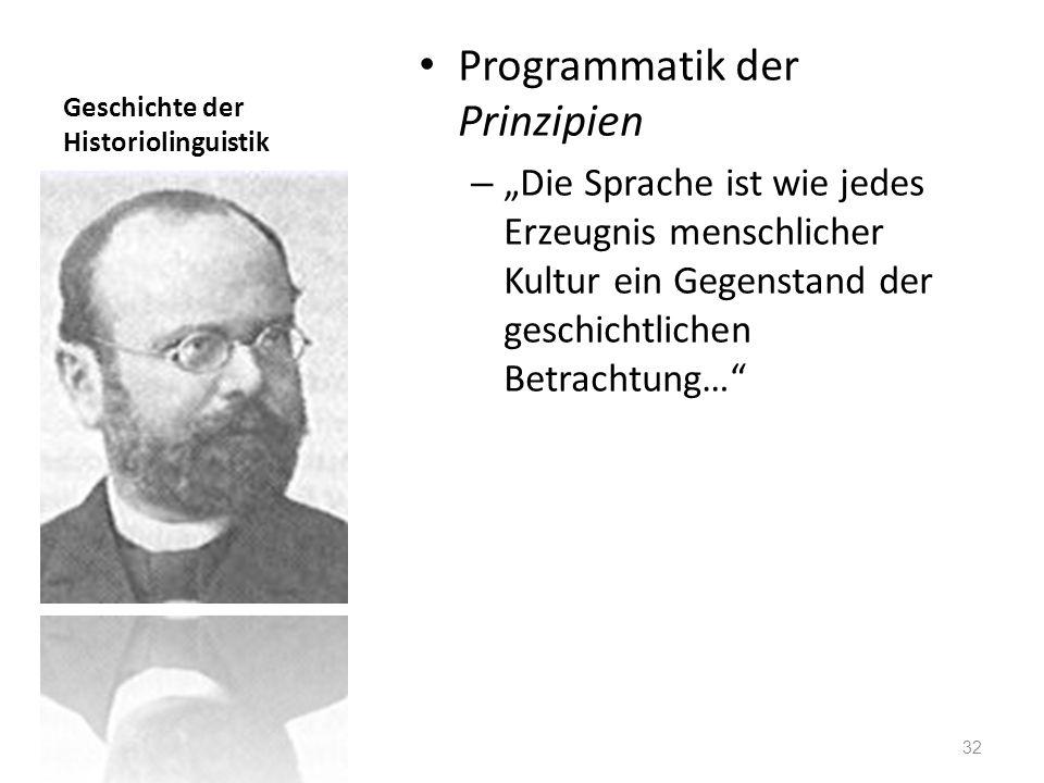 Geschichte der Historiolinguistik