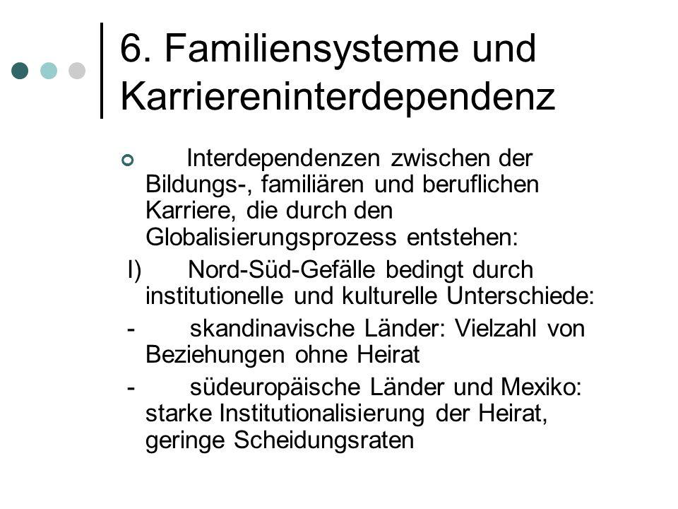 6. Familiensysteme und Karriereninterdependenz