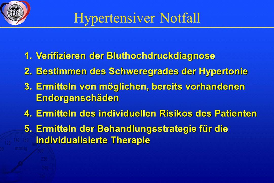 Hypertensiver Notfall