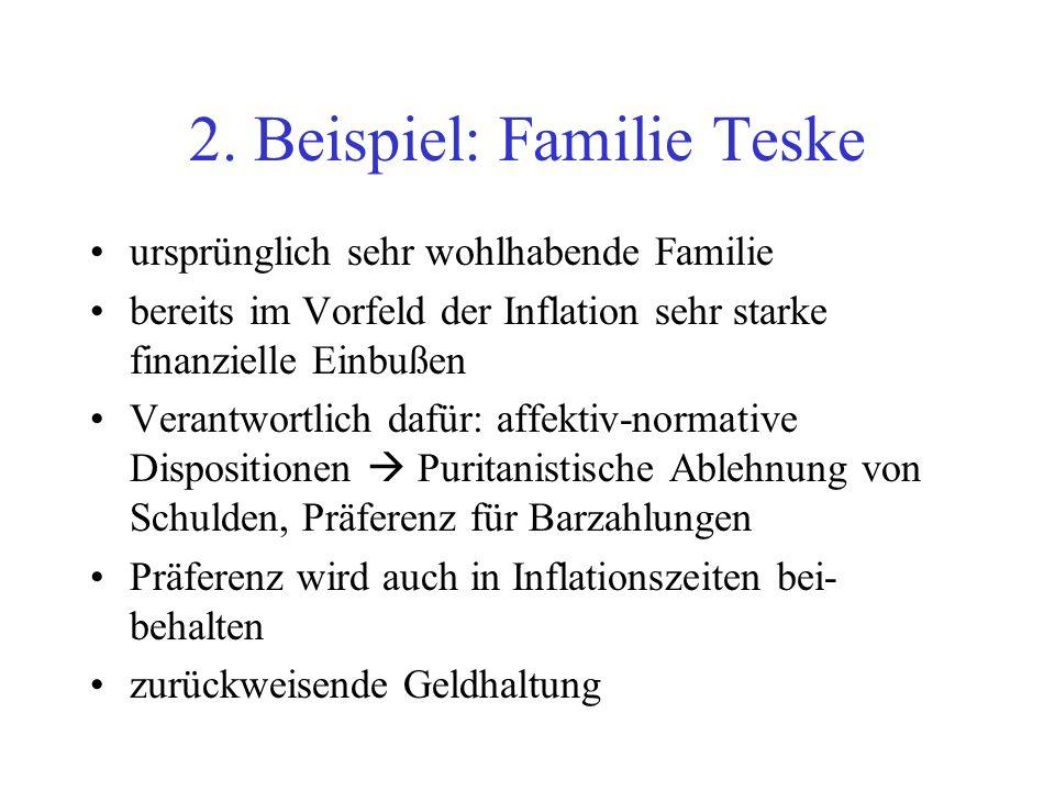 2. Beispiel: Familie Teske