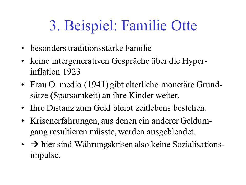 3. Beispiel: Familie Otte