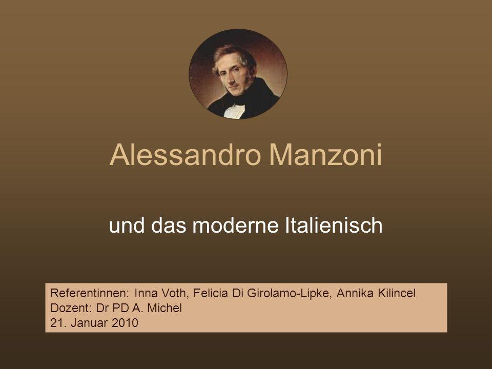 und das moderne Italienisch