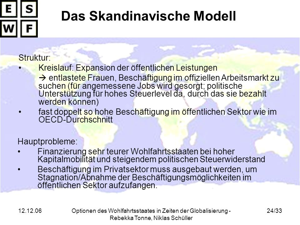 Das Skandinavische Modell