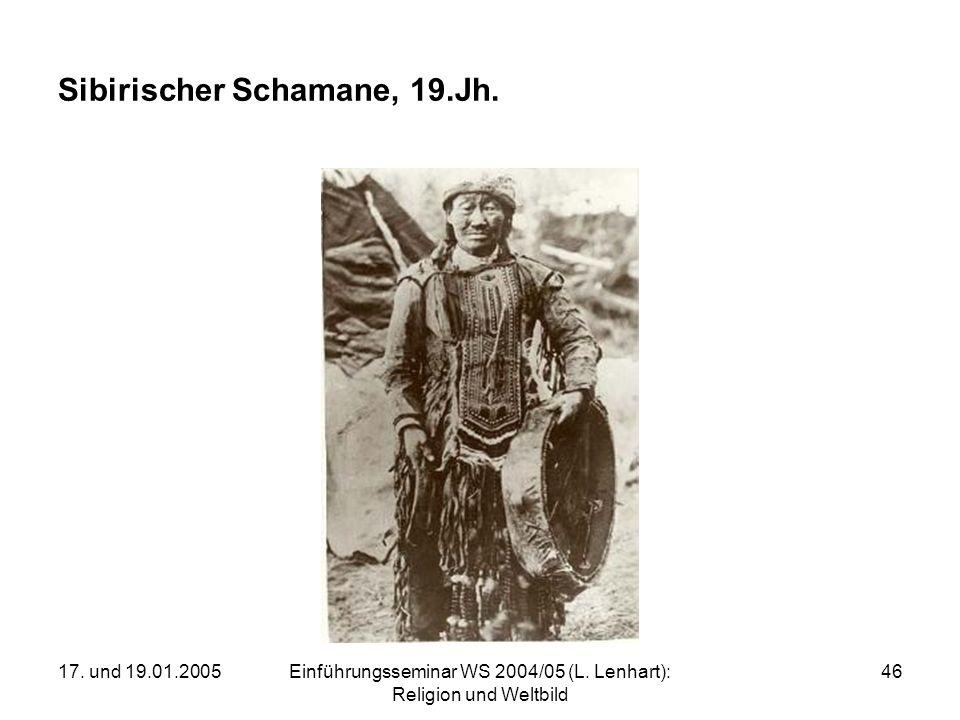 Sibirischer Schamane, 19.Jh.