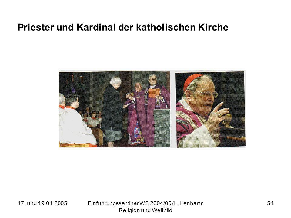 Priester und Kardinal der katholischen Kirche