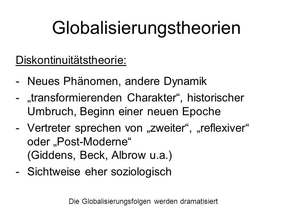 Globalisierungstheorien