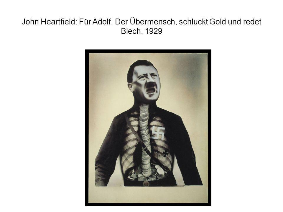 John Heartfield: Für Adolf