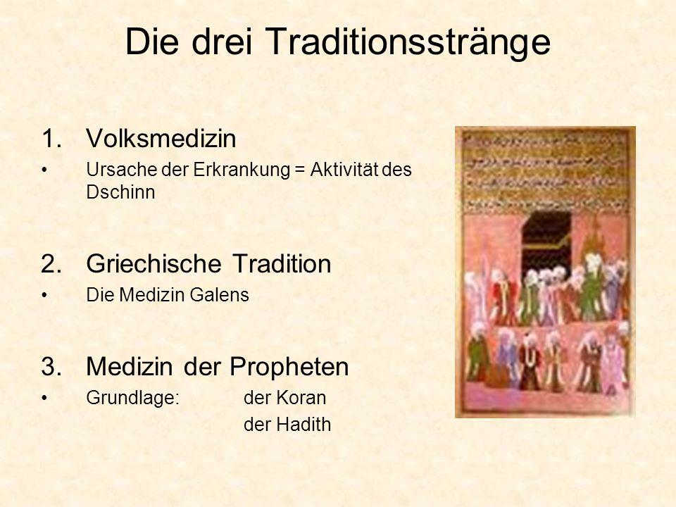 Die drei Traditionsstränge