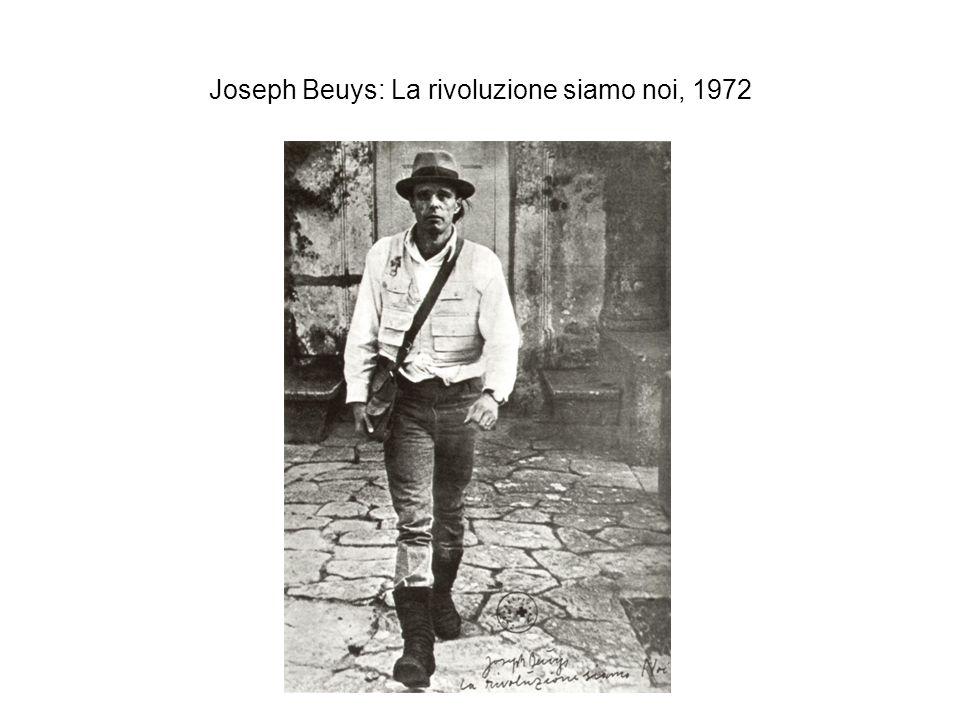 Joseph Beuys: La rivoluzione siamo noi, 1972