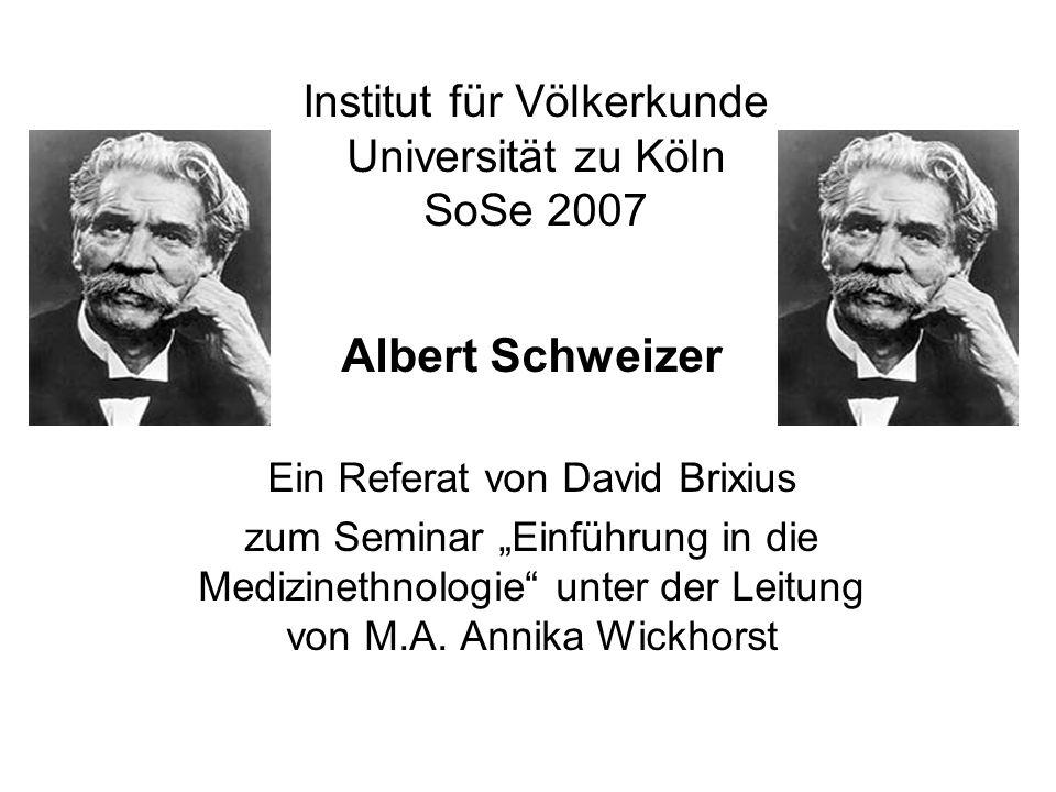 Institut für Völkerkunde Universität zu Köln SoSe 2007