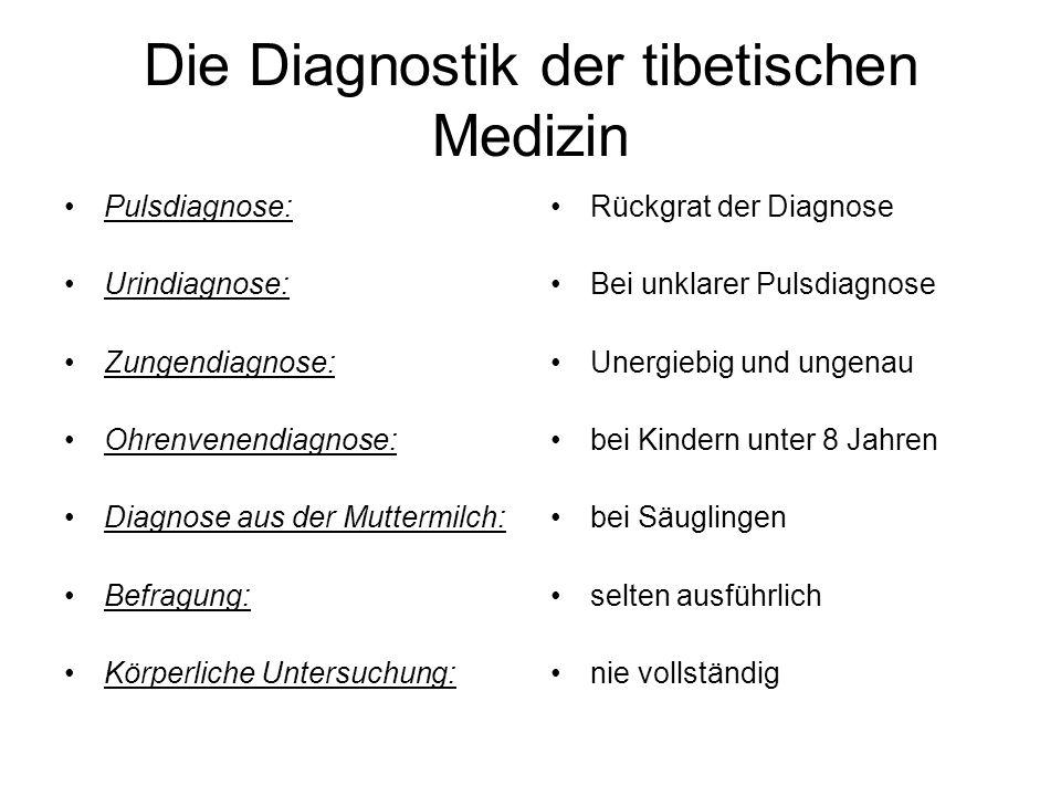 Die Diagnostik der tibetischen Medizin