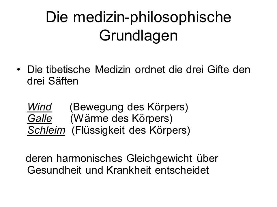 Die medizin-philosophische Grundlagen