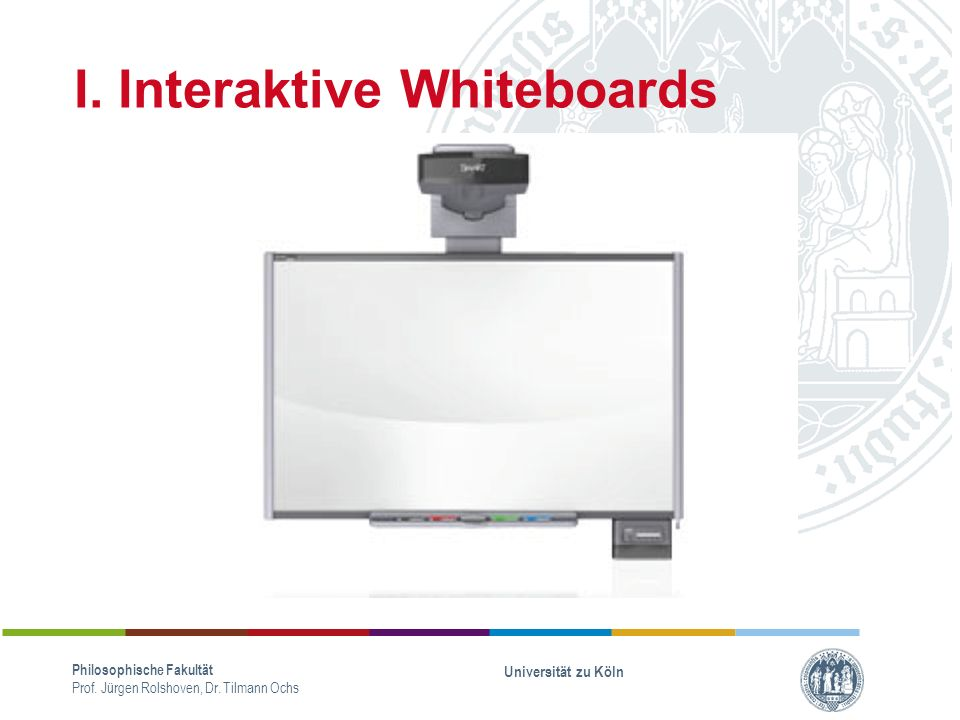 I. Interaktive Whiteboards
