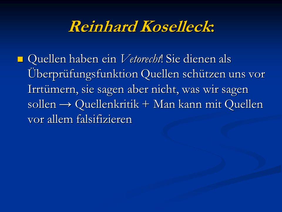 Reinhard Koselleck: