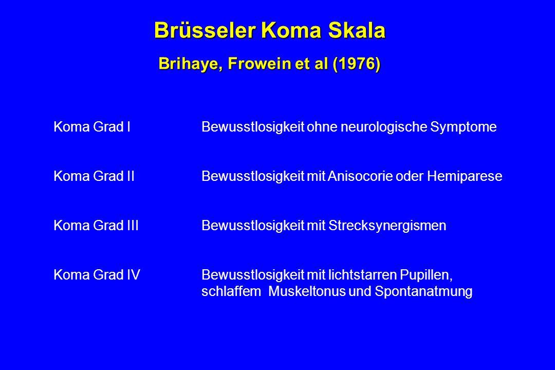 Brihaye, Frowein et al (1976)