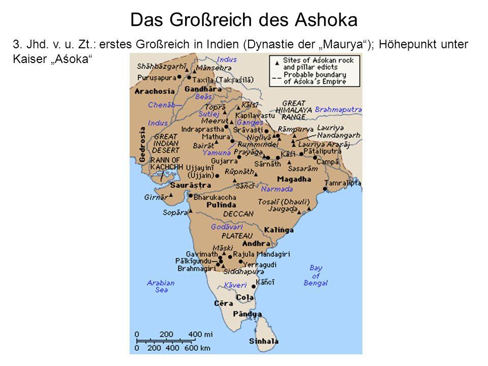 Das Großreich des Ashoka