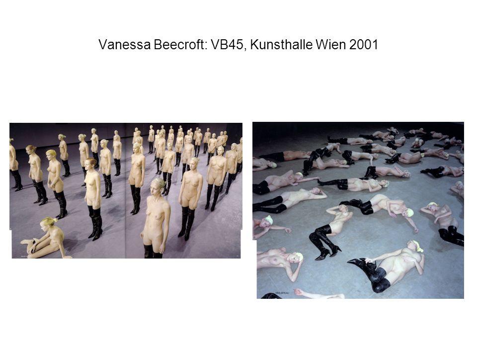 Vanessa Beecroft: VB45, Kunsthalle Wien 2001