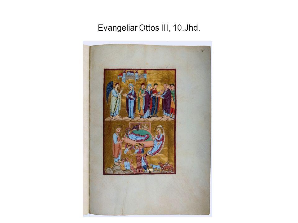 Evangeliar Ottos III, 10.Jhd.