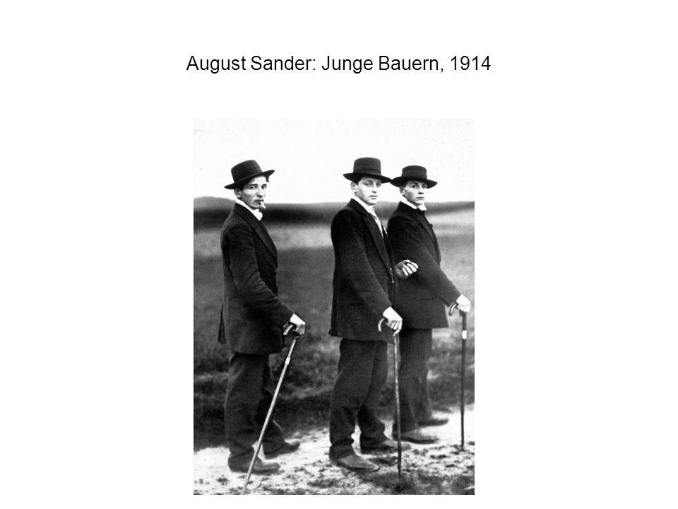 August Sander: Junge Bauern, 1914