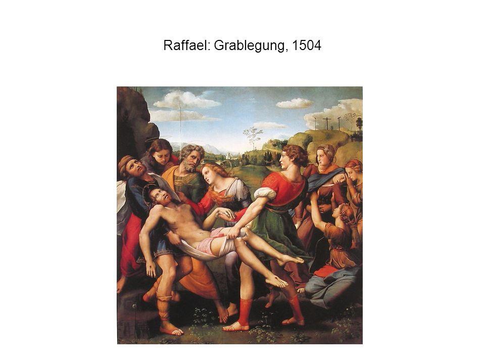 Raffael: Grablegung, 1504