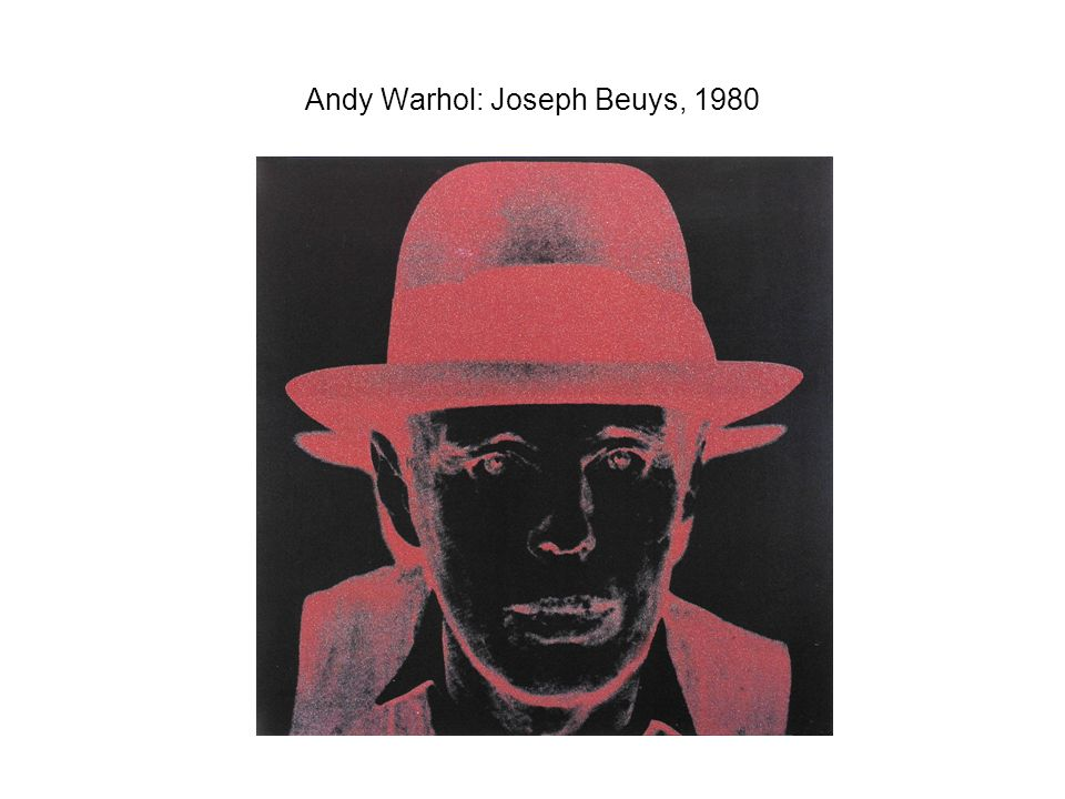 Andy Warhol: Joseph Beuys, 1980