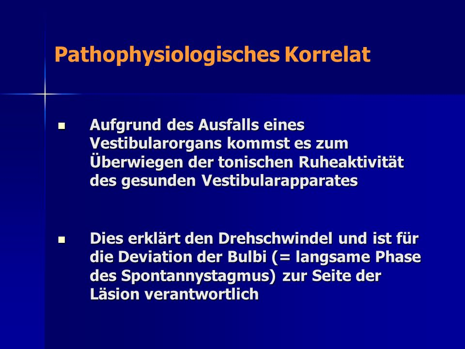 Pathophysiologisches Korrelat