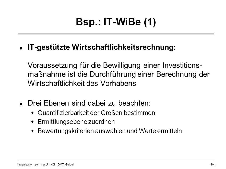 Bsp.: IT-WiBe (1)