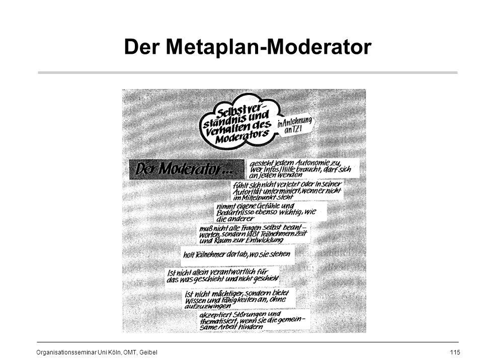Der Metaplan-Moderator