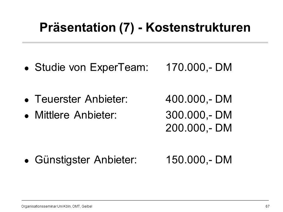 Präsentation (7) - Kostenstrukturen