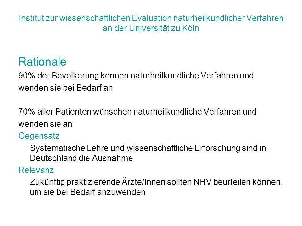 Institut zur wissenschaftlichen Evaluation naturheilkundlicher Verfahren an der Universität zu Köln