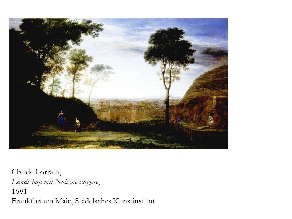Claude Lorrain, Landschaft mit Noli me tangere, 1681 Frankfurt am Main, Städelsches Kunstinstitut