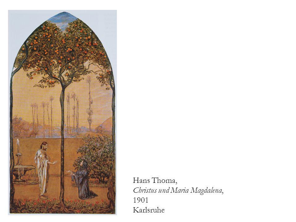 Hans Thoma, Christus und Maria Magdalena, 1901 Karlsruhe