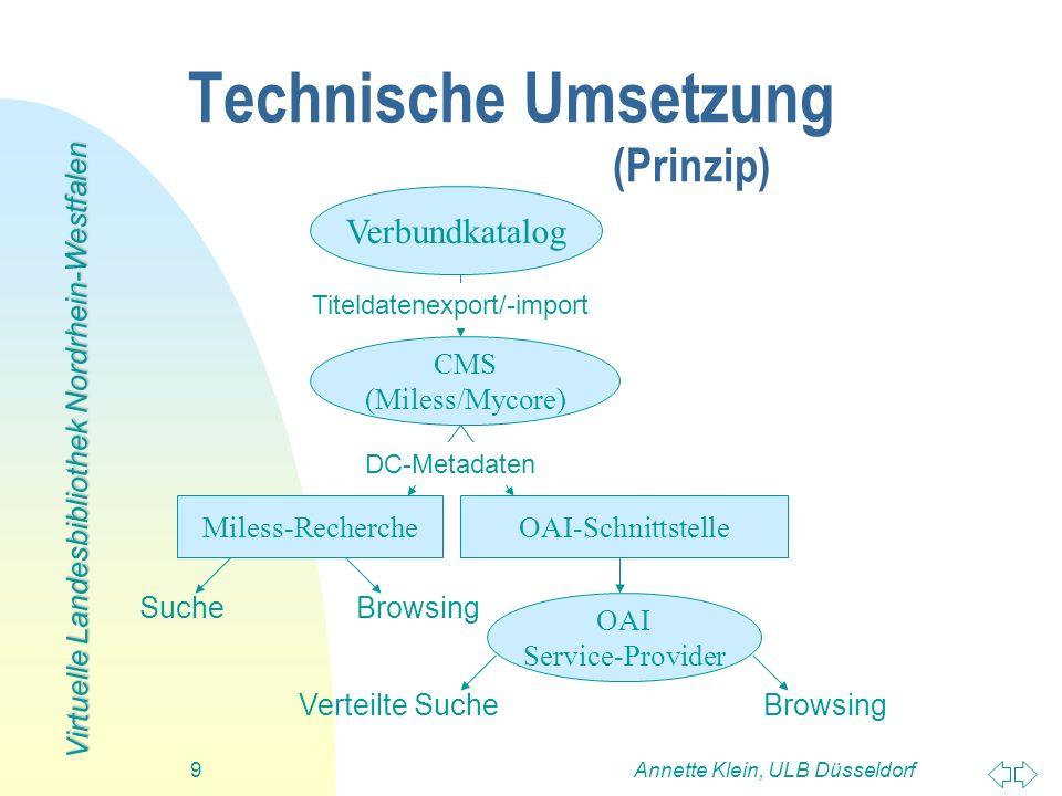 Technische Umsetzung (Prinzip)