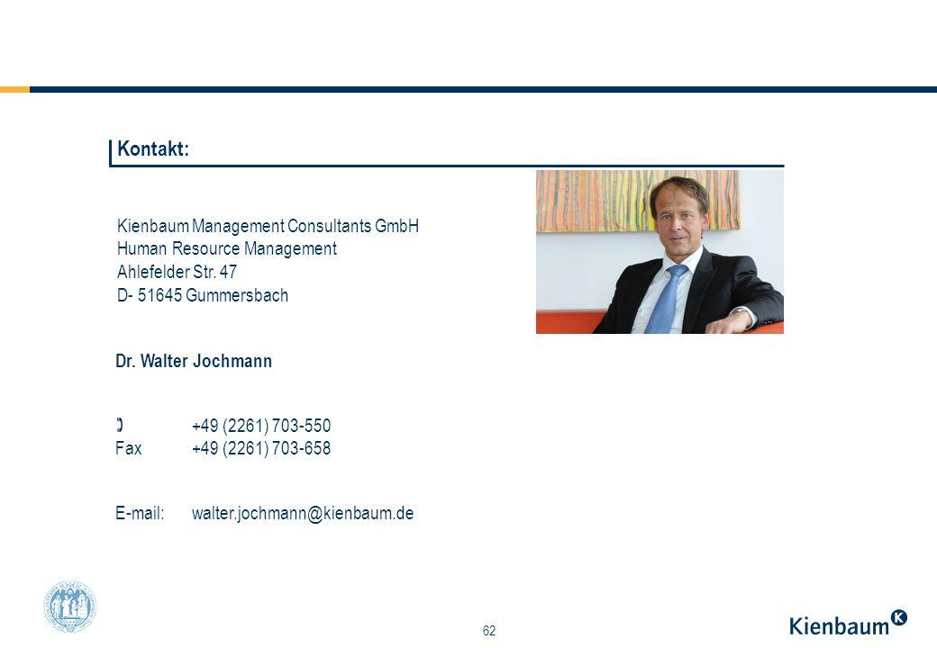 Kontakt: Kienbaum Management Consultants GmbH