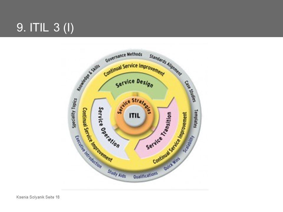 9. ITIL 3 (I)