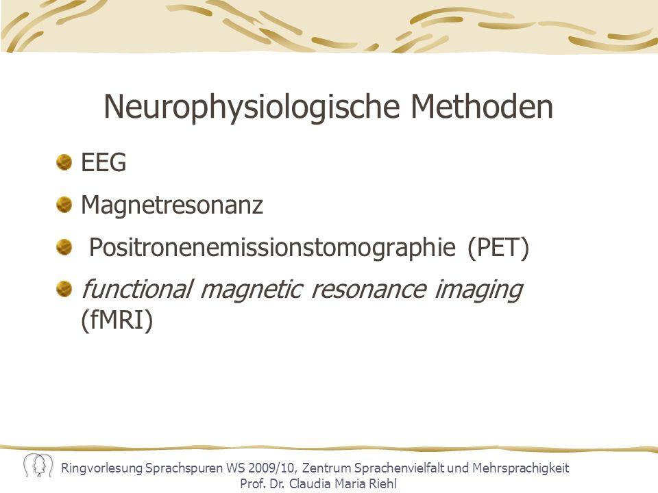 Neurophysiologische Methoden