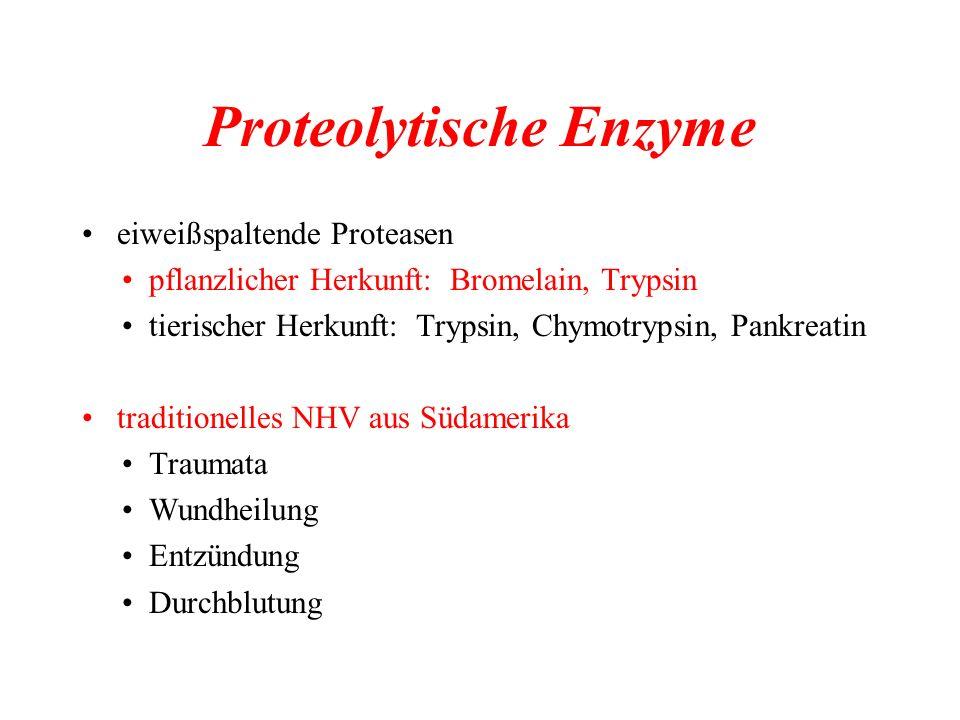 Proteolytische Enzyme