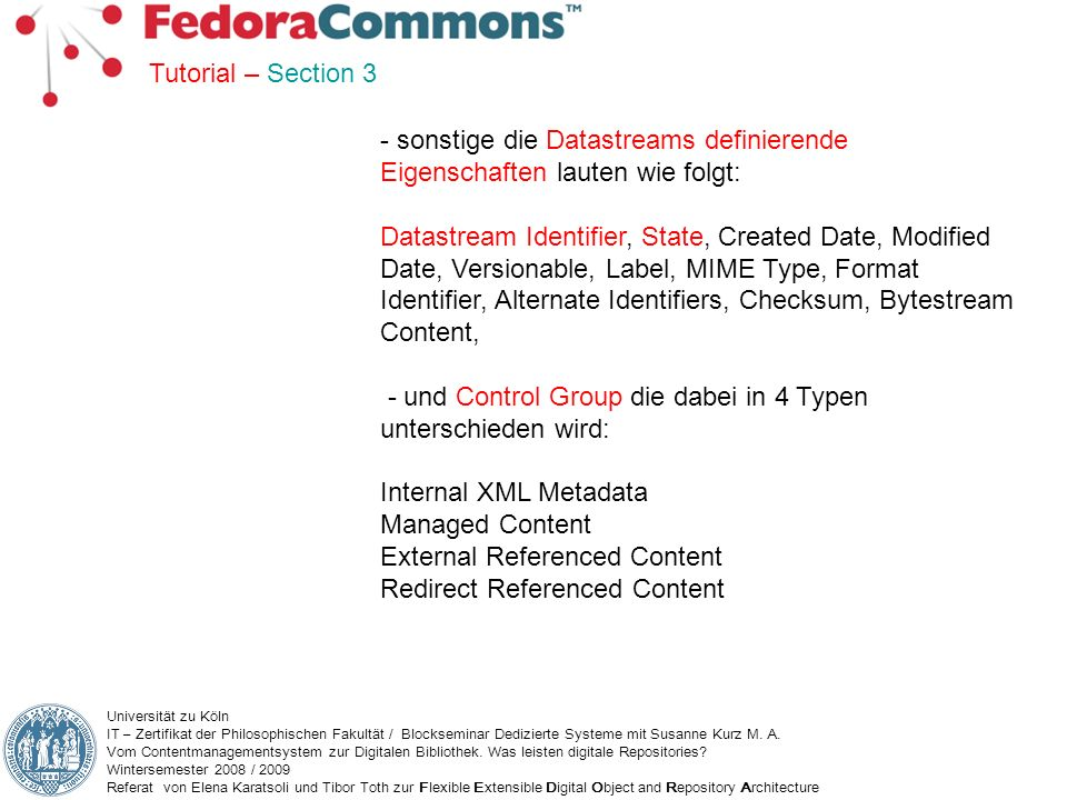 - und Control Group die dabei in 4 Typen unterschieden wird: