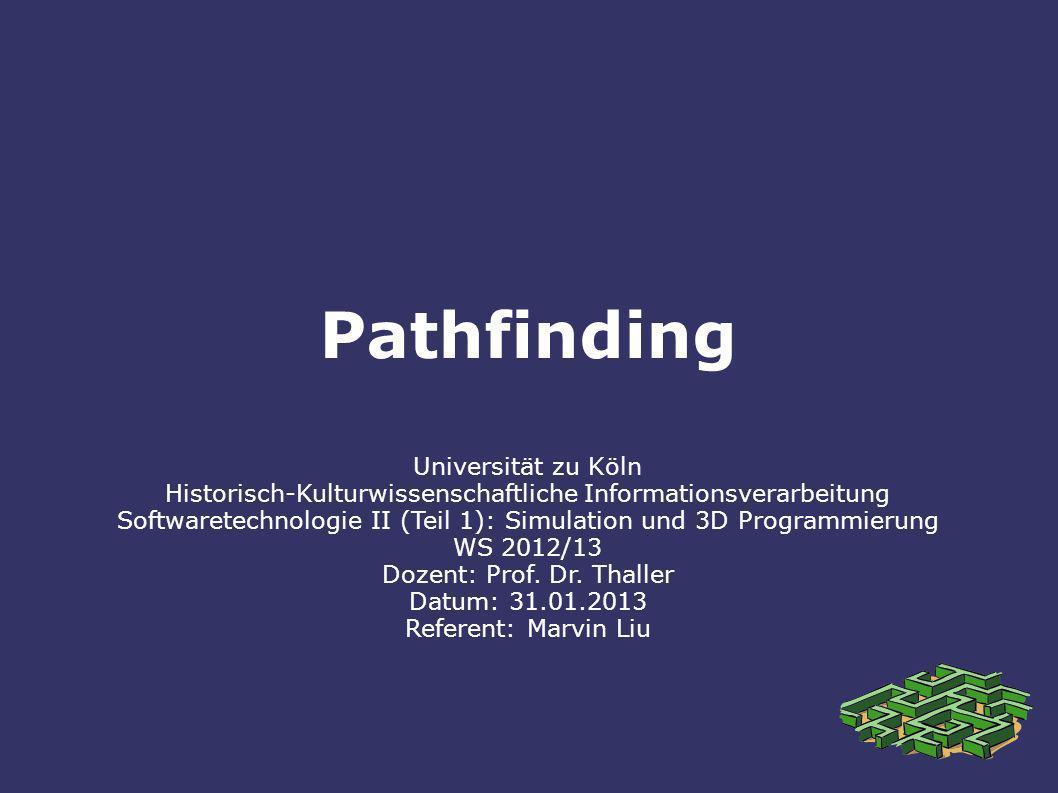 Pathfinding Universität zu Köln