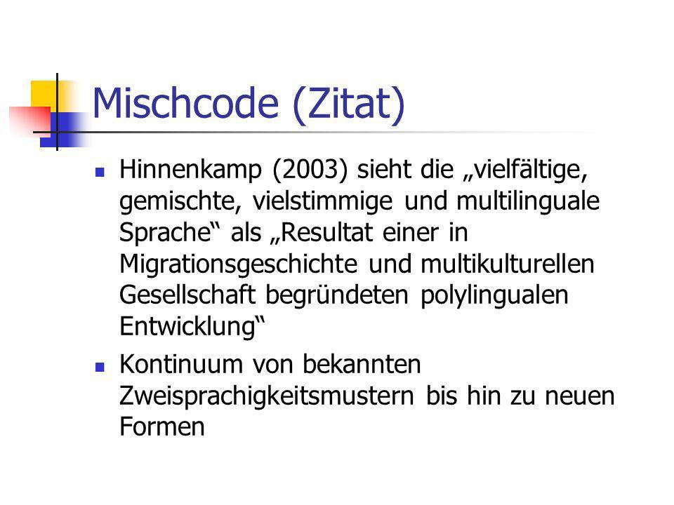 Mischcode (Zitat)