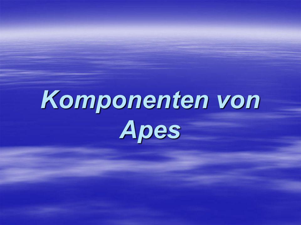 Komponenten von Apes