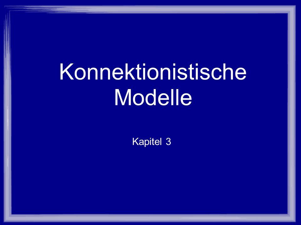 Konnektionistische Modelle