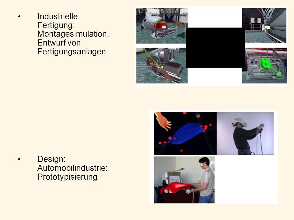 Industrielle Fertigung: Montagesimulation, Entwurf von Fertigungsanlagen