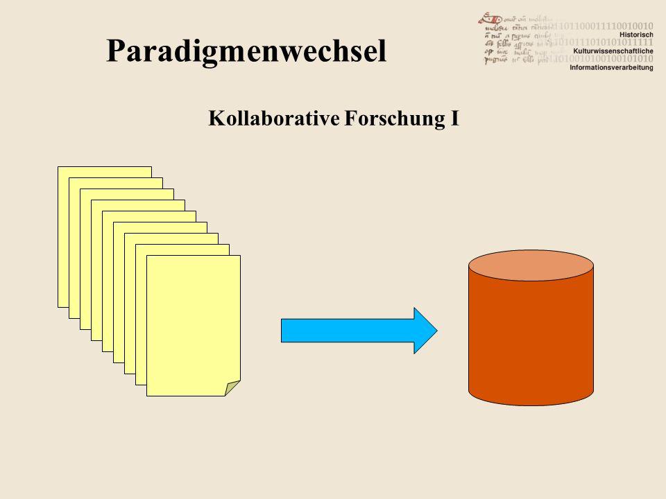 Kollaborative Forschung I