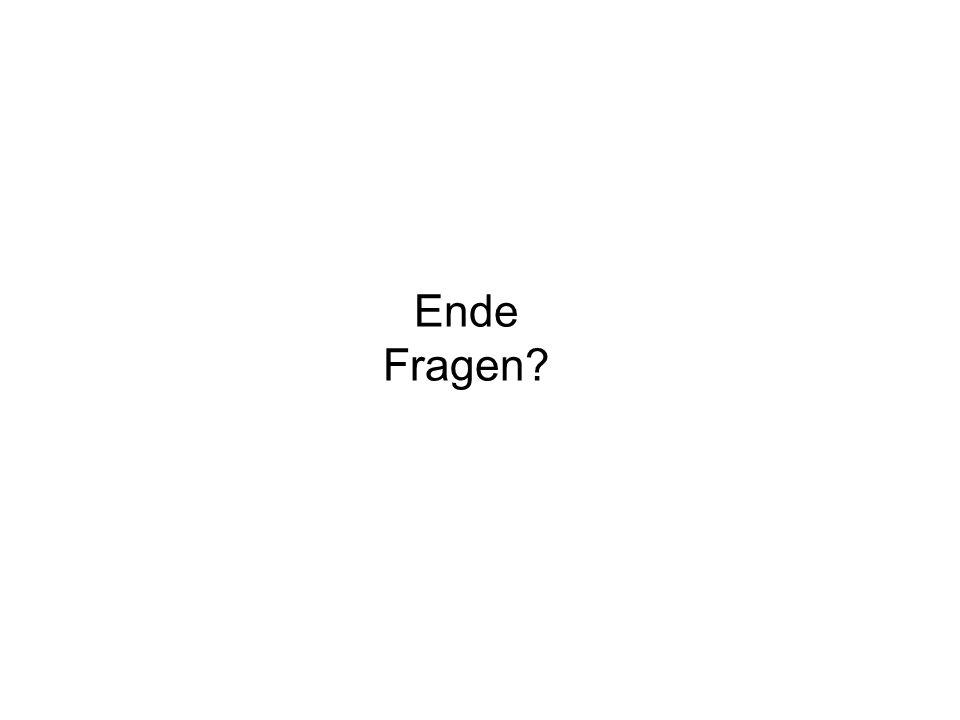 Ende Fragen