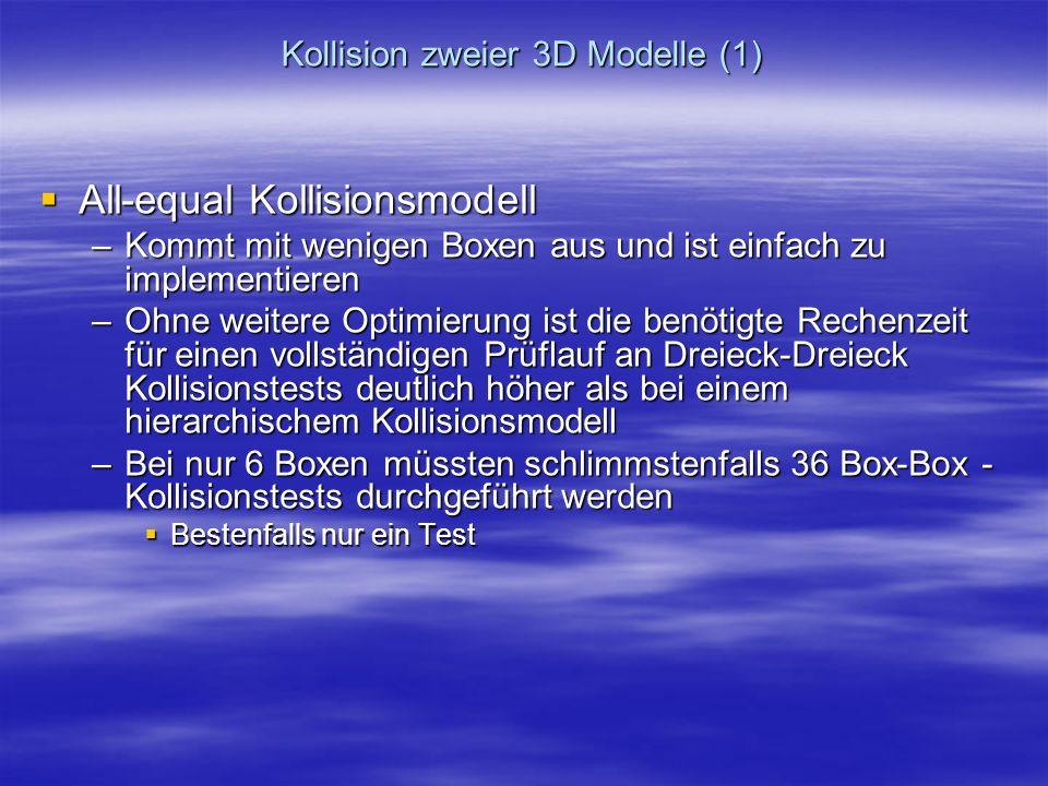 Kollision zweier 3D Modelle (1)