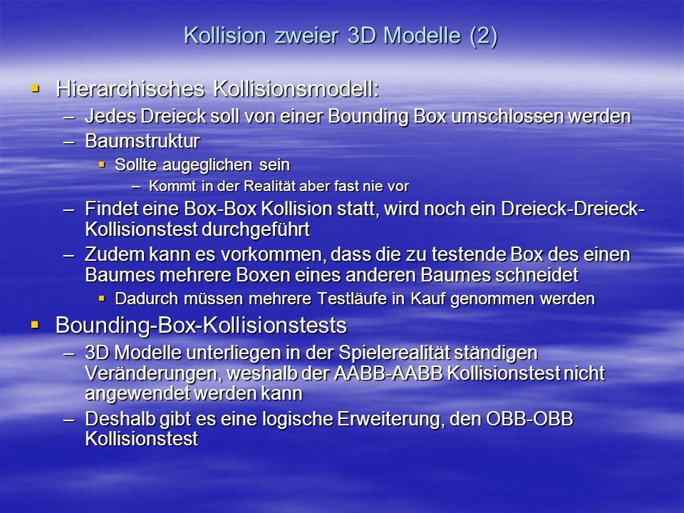 Kollision zweier 3D Modelle (2)