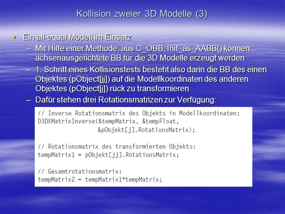 Kollision zweier 3D Modelle (3)