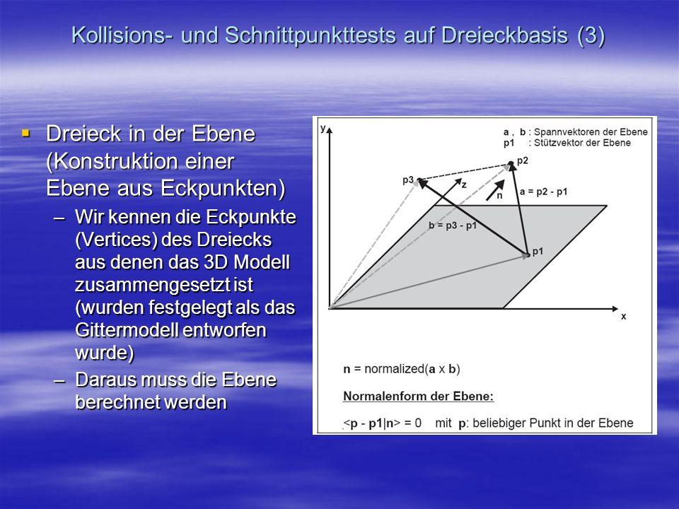 Kollisions- und Schnittpunkttests auf Dreieckbasis (3)