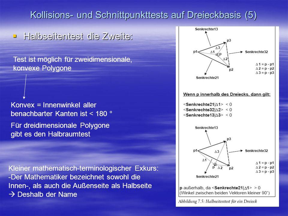 Kollisions- und Schnittpunkttests auf Dreieckbasis (5)